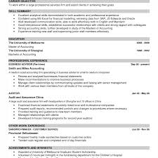 Good Examples Of Resumes Resume Experience Intended For Example A ...