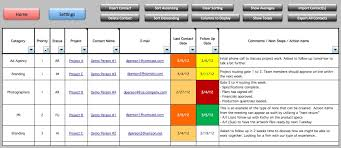 Excel Templates For Project Management Multiple Project Management Tracking Templates Excelide