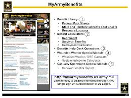 department of the army pre retirement briefing ppt
