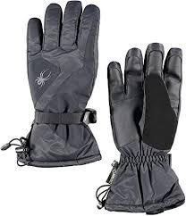 Amazon Com Spyder Mens Mvp Conduct Gore Tex Gloves Black