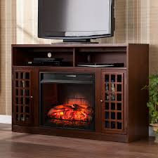 w a stand infrared electric fireplace in espresso