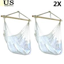 hammock hanging chair indoor lot 2 air sky swing outdoor porch patio solid wood with arc hammock hanging chair