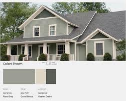 Exterior Home Paint Schemes New Design