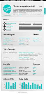 designs for resumes 50 awesome resume designs that will bag the job hongkiat