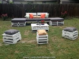 wooden pallet garden furniture. Great Recycled Outdoor Furniture Rafael Martinez In Decor Wooden Pallet Garden