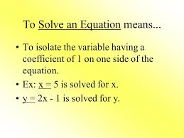2 solving equations using addition and subtraction