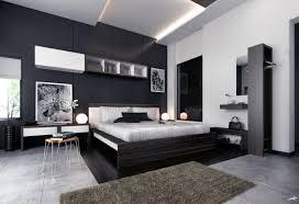 white modern master bedroom. In Demand Modern Black And White Furnishing Design With Vanities Beside Cover Master Bedding As Inspiring Room Decor Ideas Bedroom