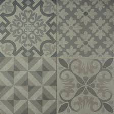 Patterned Floor Tiles Bathroom Skyros Delft Grey Wall And Floor Tile Wall Tiles From Tile Mountain