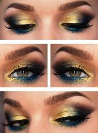 dramatic pea inspired eye makeup ideas