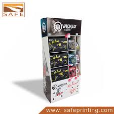 Retail Product Display Stands Corrugated Floor Display Stands Cardboard Retail Displays 76