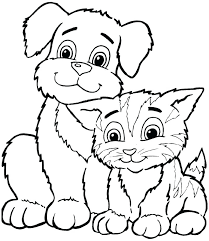 Cute Animals To Color Coloring Pages Cute Animals Coloring Pages Of