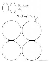 mickey head template printable 27 images of mickey mouse ears template design geldfritz net