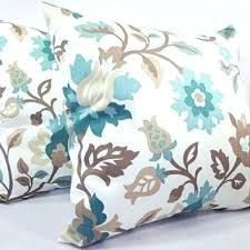 teal throw pillows. Marvellous Teal Decorative Pillows Blue And Brown Pillow Covers 2 Inch Floral Throw .