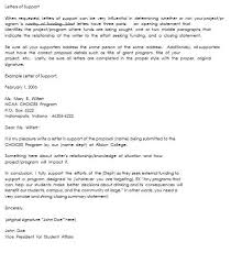 Letter Of Support Sample Template Extraordinary Grant Letter Of Support Template Gdyinglun