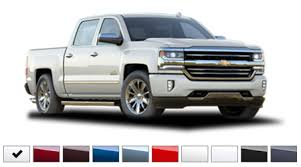 2016 Chevrolet Silverado Color Options Burdick Chevrolet