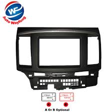 mitsubishi radio wiring reviews online shopping mitsubishi radio car refitting dvd frame dvd panel dash kit fascia radio frame audio frame fit for 2010 mitsubishi galant fortis lancer x 2din