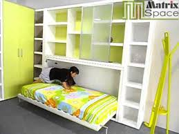 wall bed office. Space Saving Side Fold Wall Bed Murphy With Bookcases And Office Table H