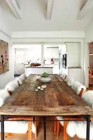 Dining Table In Kitchen 17 Best Ideas About Reclaimed Wood Dining Table On Pinterest