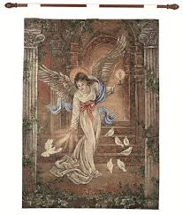 lena liu angel of light pictorial religious wall art hanging tapestry 26 x on christmas wall art tapestry with lena liu angel of light pictorial religious wall art hanging