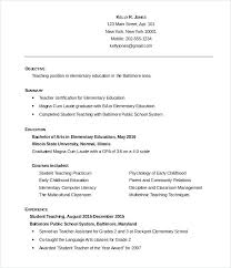 Simple Resume Templates Free Download