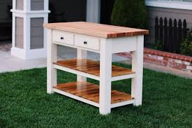 Chopping Table Kitchen Ana White Butcher Block Kitchen Island Diy Projects