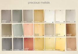 Martha Stewart Metallic Paint Color Chart Google Search
