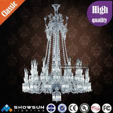 modern fancy luxury baccarat crystal chandelier