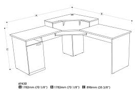 com wood home office corner computer desk in intended for dimensions prepare 7 galant ikea