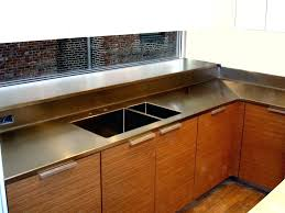 marvelous cost of stainless steel countertops countertop stainless steel countertops cost vs granite