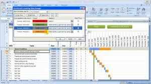 040 Template Ideas Excel Construction Schedule Unbelievable