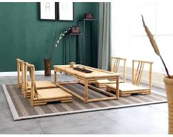 furniture made from bamboo. Bamboo Living Room Furniture Style Coffee Table Hand Crafted Modern Rattan Floor . Made From