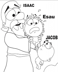 Isaac And Rebekah Coloring Pages And Page - glum.me