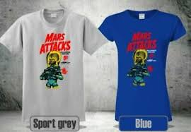 Trading Card Size Chart Details About Mars Attacks Ps Trading Cards 1962 Coll 2 Shirt Usa Size S 3xl