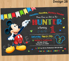 mickey mouse cards mickey mouse birthday invitation mickey mouse clubhouse party invitation chalkboard printable 1st birthday first bday boy invites any age