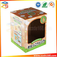 china 14 year factory customized high quality corrugated gift box with window china corrugated box gift box