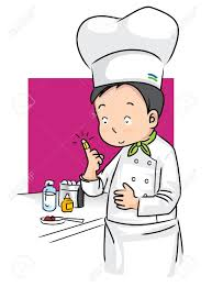 Kitchen Present Illustration Present Accident And First Aid Of Chef In Kitchen
