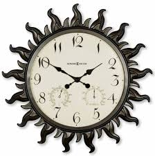 howard miller sunburst ii 625 543 wall clock