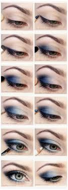 então vai esse tutorial maquiagem azul means like the color blue then will this tutorial with blue makeup