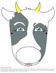 Cow Template Printable Cow Nightcode Info