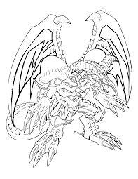 Yugioh Paradijs Kleurplaat B Skull Dragon