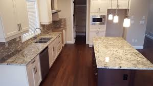 White Kitchens With White Granite Countertops Top 25 Best White Granite Colors For Kitchen Countertops