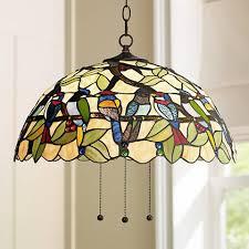 tropical pendant lighting. robert louis tiffany tropical birds 20 pendant lighting 1