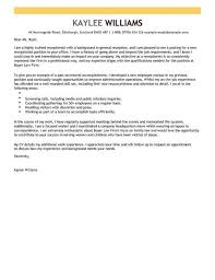 Cover Letter Examples Receptionist Receptionist Cover Letter Example Cover Letter Templates Examples