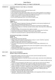 Electrical Engineer Resumes Electrical Engineer Resume Example Electrical Engineer Resume 16