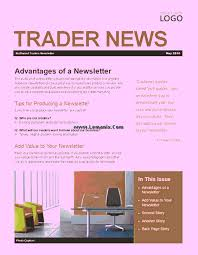 Microsoft Office Publisher Newsletter Templates 29 Images Of Microsoft Office Publisher Newsletter Template