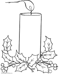 Small Picture Christmas Coloring Pages Bells and Candles