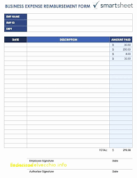 Free Printable Expense Report Forms Simple Travel Expense Reimbursement Form Template New Excel Travel Expense