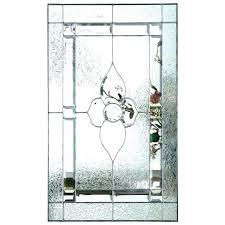 glass front door inserts doorpro entryways inc decorative glass inserts frosted glass front door inserts