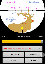 Bdc Reticle Ballistics Chart Step 4 Get Your Ballistics On