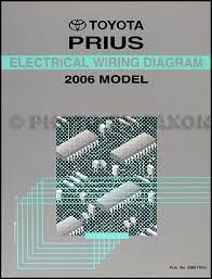 2006 toyota prius wiring diagram manual original